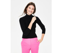 Tilly Rollkragenpullover Black Damen