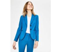 Elizabeth Ponte-Blazer Blue Damen