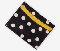Kartenhalter aus Leder Black Damen