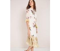 Cressida Kleid mit Quastenverzierung Ivory Damen