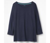 Superweiches Oversize-T-Shirt Blue Damen