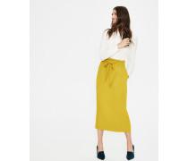 Melina Paperbag-Rock Yellow Damen