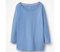 Superweiches Oversize-T-Shirt Blue Damen