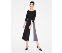Claudia Ponte-Kleid Black Damen