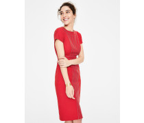 Kitty Strukturiertes Kleid Red Damen
