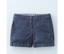 Chinoshorts Blue Damen
