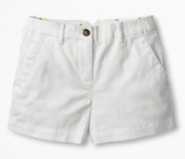 Rachel Chino-Shorts White Damen