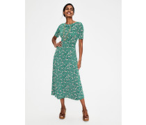 Ava Jersey-Midikleid Green Damen