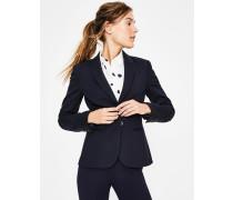Elizabeth Ponte-Blazer Navy Damen