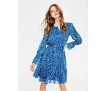 Libby Kleid Blue Damen