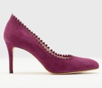 Mittelhohe Polly Pumps Purple Damen