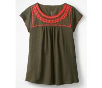 Ferne Jerseyshirt Khaki Damen