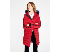 Brecon Steppmantel Red Damen