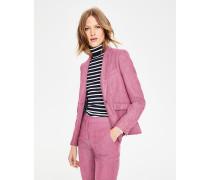 Bath Blazer aus britischem Tweed Pink Damen