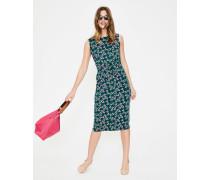 Jerseykleid mit Taillengürtel Green Damen
