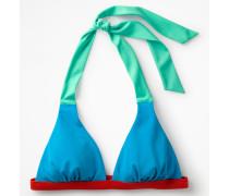 Positano Neckholder-Bikinioberteil Blue Damen