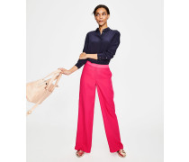 Marlin Hose mit weitem Bein Pink Damen