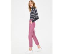 7/8-Hose aus britischem Tweed Pink Damen