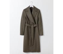 Suki Mantel aus britischem Tweed Green Damen