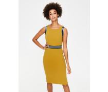 Zada Ottoman-Kleid Yellow Damen