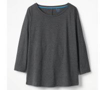 Superweiches Oversize-Oberteil Grey Damen