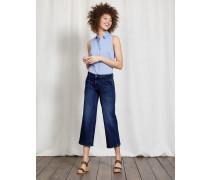 Dulverton Verkürzte Jeans Denim Damen