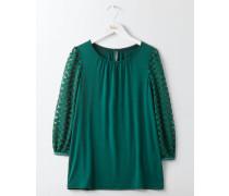 Aurora Jerseyshirt Green Damen