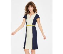 Freida Strukturiertes Kleid Ivory Damen