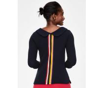 Sarah Ottoman-Shirt Navy Damen