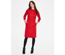 Estella Jacquard-Kleid Red Damen