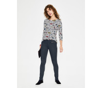 Brighton Biker Jeans Grey Damen