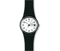Swatch Unisex-Uhren Rund Analog Quarz