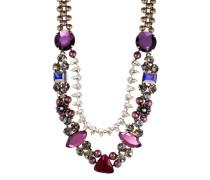 Halskette Evergrün Collection aus Messing