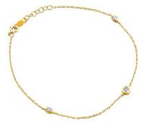Armband aus 375 Gold mit 0.14 Karat Diamanten