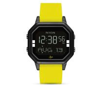 Digitaluhr Siren SS A1211-2972-00 Black / Yellow / Abysse
