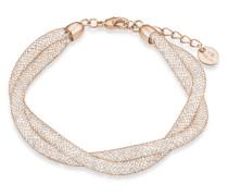 Armband aus Edelstahl mit Swarovski-Steinen