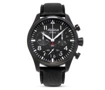 Schweizer Chronograph Startimer Pilot Big Date AL-372B4FBS6