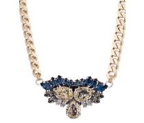 Halskette Rebel Without A Cause vergoldet mit Swarovski-Steinen