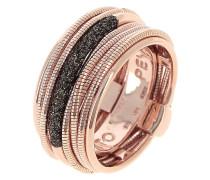 Ring aus Sterling Silber vergoldet