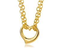 Halskette 'Herz' aus 375 Gold