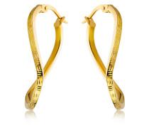 Creolen aus 585 Gold   Stärke 2 mm