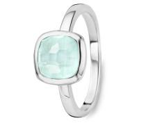 Ring aus 925 Sterling Silber mit Kristall-50
