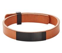 Armband Vinther aus Leder & Edelstahl