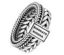 Buddha to Buddha Herren-Herrenring 925er Silber