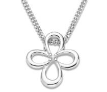 Halskette aus 925 Sterling Silber mit Zirkonia