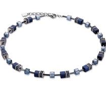 Halskette aus Edelstahl mit Zirkonia
