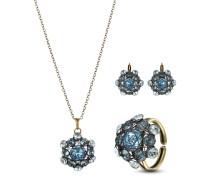 Set Bended Lights mit Halskette, Ohrhängern & Ring