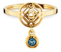 Ring Morocco Nights aus vergoldetem 925 Sterling Silber mit Topas-50