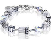 Coeur de Lion Damen-Armband Edelstahl Swarovski Kristalle