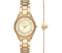 Michael Kors Damen-Uhren-Sets Analog Quarz